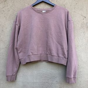 ASOS Size 14 Women's Dusty Pink Cropped Sweater
